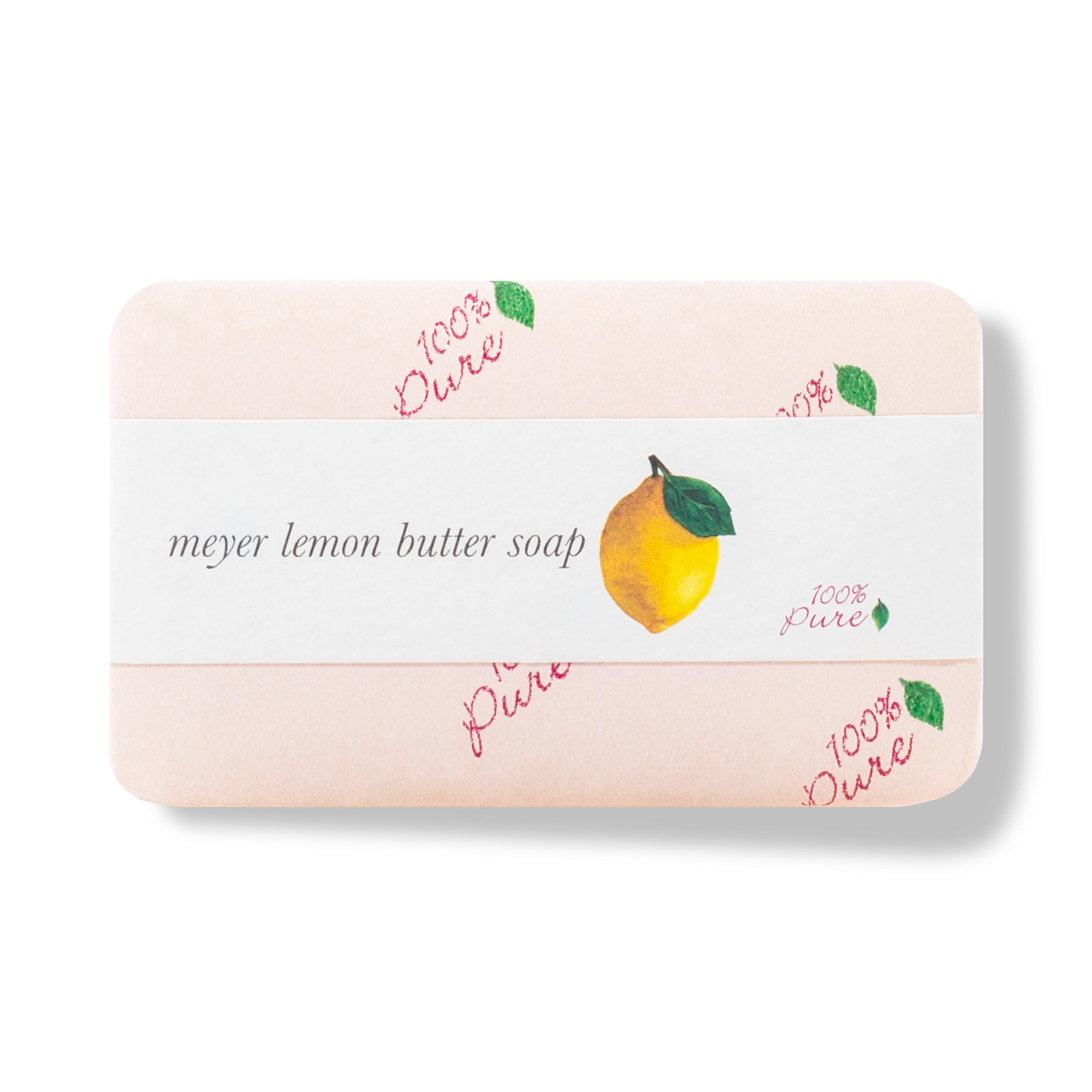 animal cruelty free product image - Meyer Lemon Butter Soap