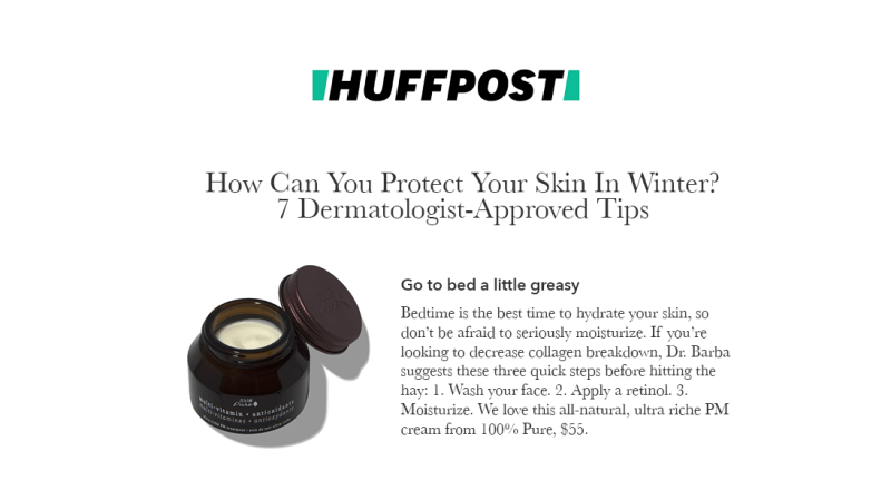 Press Release: HuffPost