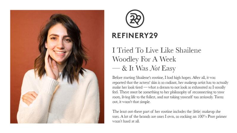 Press Release: Refinery29.com