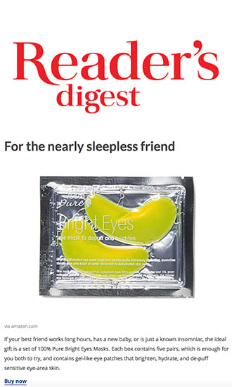 Press Release: Reader's Digest