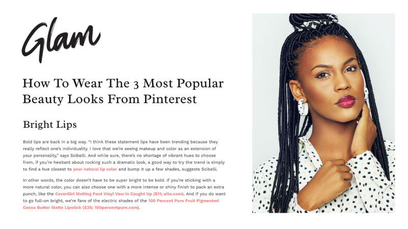 Press Release: Glam.com