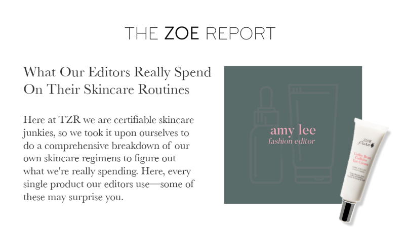 Press Release: The Zoe Report