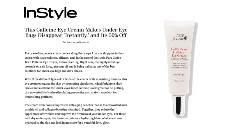 Press Release: InStyle.com