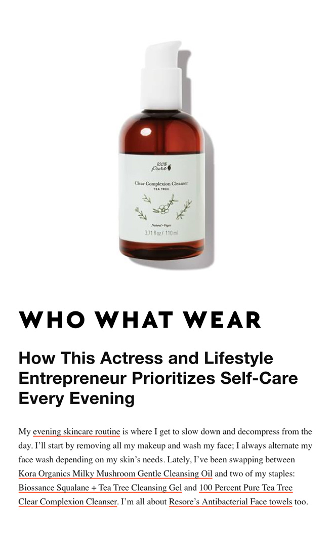 Press Release: Who What Wear